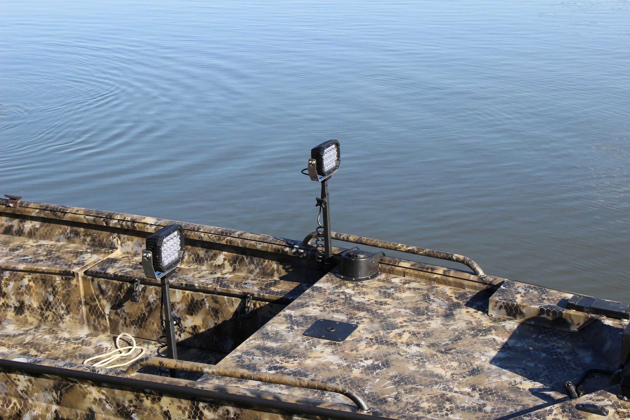 Stingray Industries Led Llc Telescoping Duck Boat System